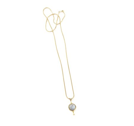 Emily Valentine Gold Pool Necklace