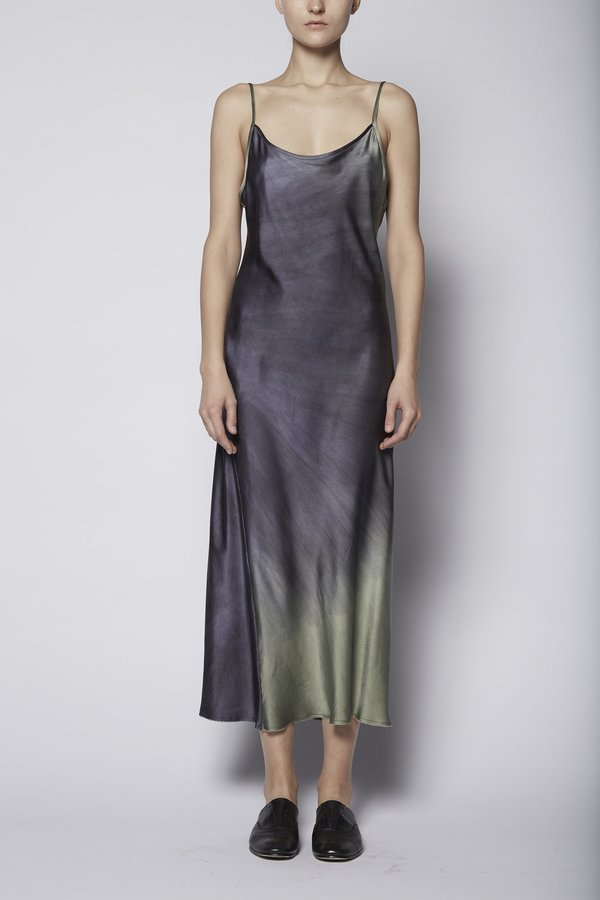 KES Minimal Slip Dress Dip-Dye