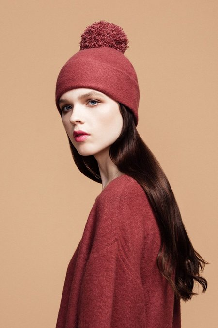 Hansel from Basel Adele Beanie in Terracotta