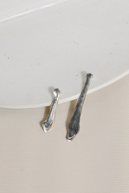 Leigh Miller Ebb and Flow Earrings - Sterling Silver