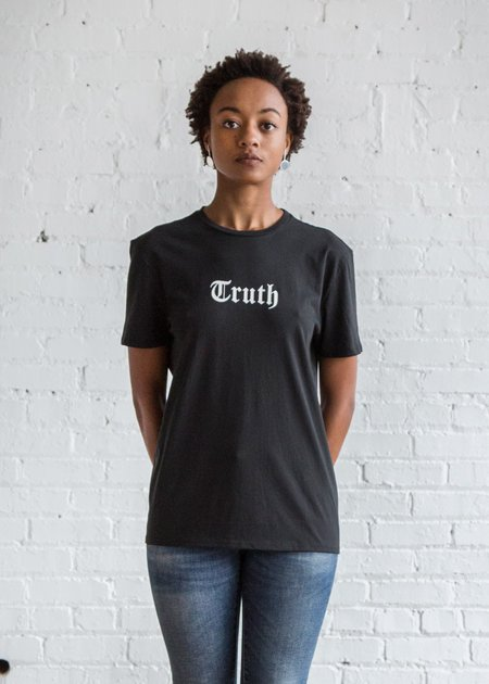 Unisex 6397 Truth Boy T Black