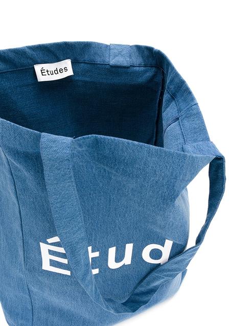 Unisex Études Denim Tote Bag