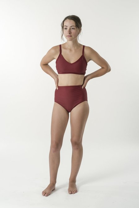 Good Studios Swim Good High Waisted Brief