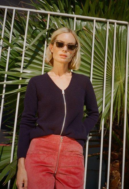 Jenni Kayne Ribbed V-neck Cardigan