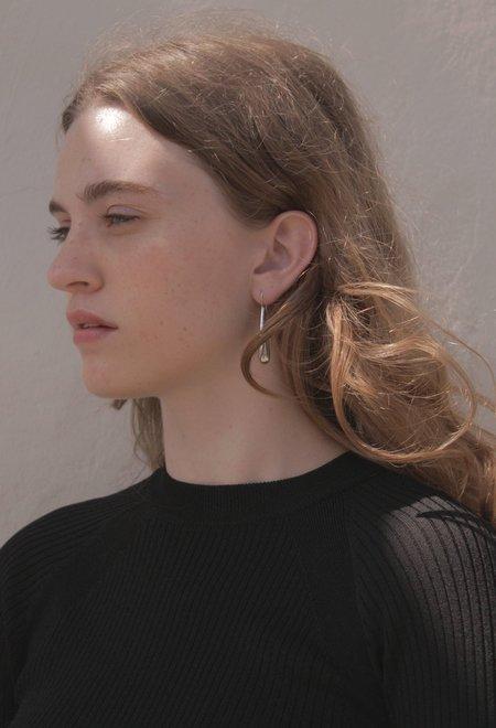 Shop Super Street Tear Drops Earrings - Sterling Silver