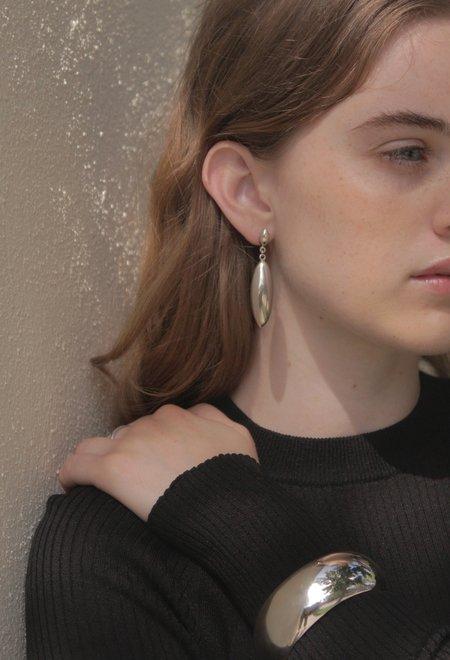 Shop Super Street Small Silver Drop Earrings