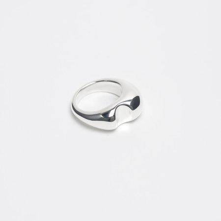 Leigh Miller Sterling Silver Bite Ring
