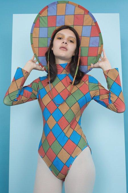 Samantha Pleet Turtle Bodysuit - Harlequin