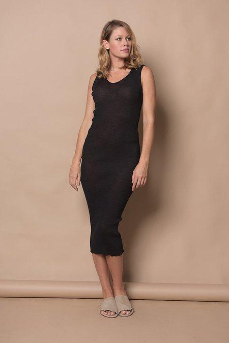 Lauren Manoogian Accordion Dress - Charcoal