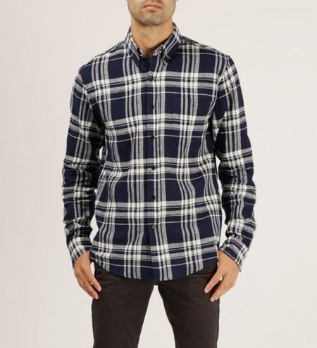 WELCOME STRANGER L/S Plaid Clean Seam Shirt