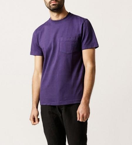 WELCOME STRANGER OD Bison Pocket T- Shirt
