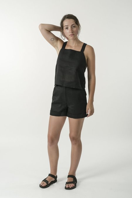 Good Studios Hemp Linen Apron Top