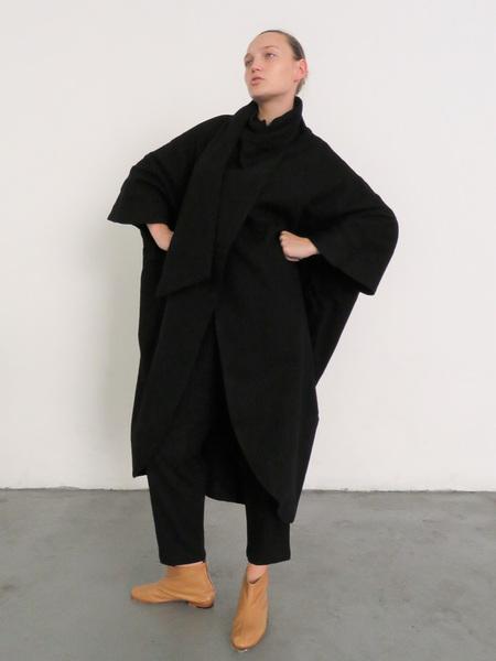 BLACK CRANE HEAVY CARPENTER PANTS - BLACK