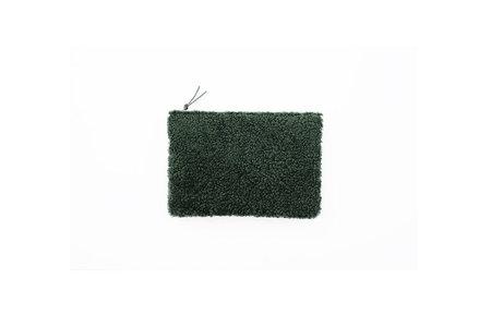 Primecut Green Shearling Zipper