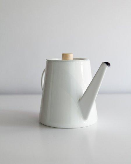 KAICO Japanese Enameled Pour Over Kettle - White
