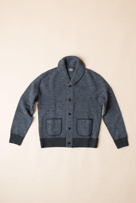 RRL Cotton Blend Fleece Cardigan