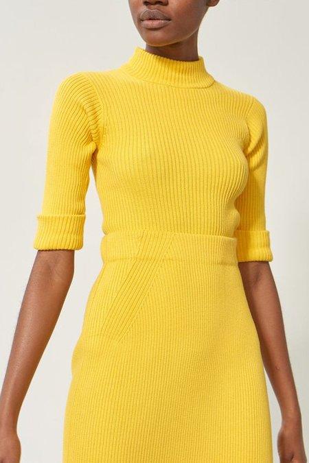 Mara Hoffman April Sweater In Yellow
