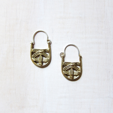 Alchemilla Basket Earrings