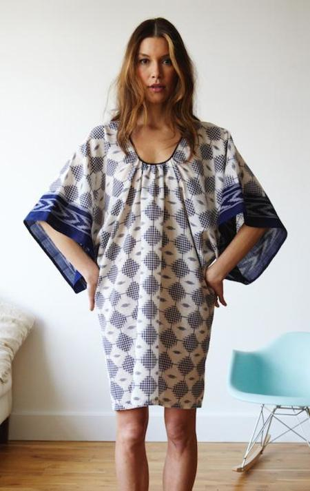 Two New York Ikat Isha Dress