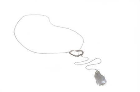 Neal Currents Lariat Necklace