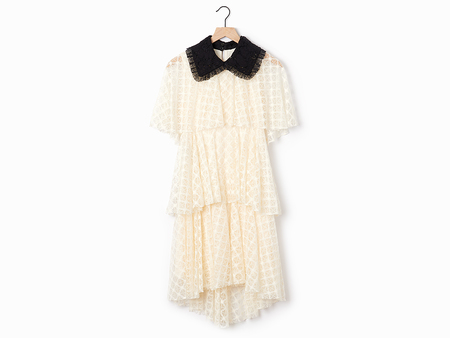 Philosophy di Lorenzo Serafini Tiered Lace Dress