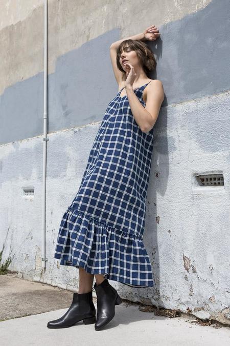 loishazel Plaid Gather Dress