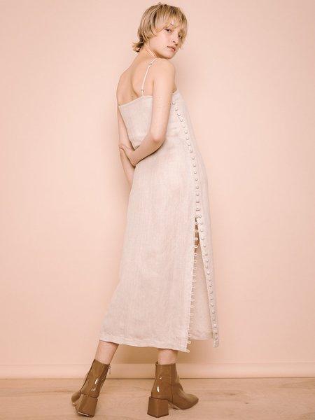 Ajaie Alaie Full Moon Dress - White Sands