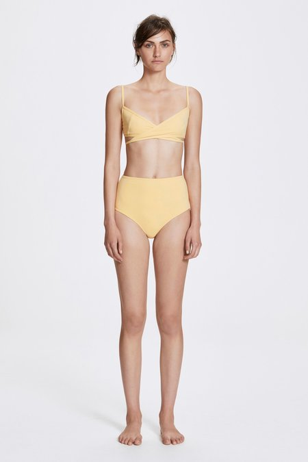 Her Line Rei Two-Piece Set - Butter Yellow