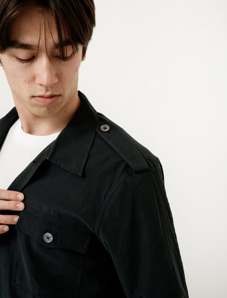 Our Legacy Casual Military Shirt Tech Cupro