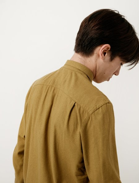 Our Legacy Classic Shirt - Gold Silk Noil