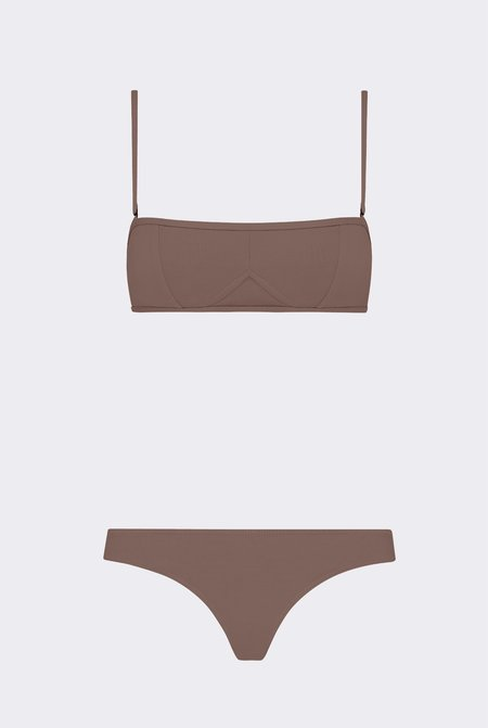 Her Line Lily Two-Piece Set - Terra Brown