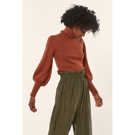 Mara Hoffman May Sweater in Rust