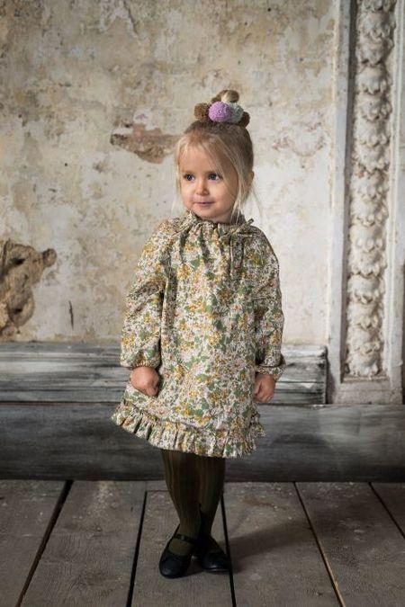 Kid's Bebe Organic Greta dress Venetian