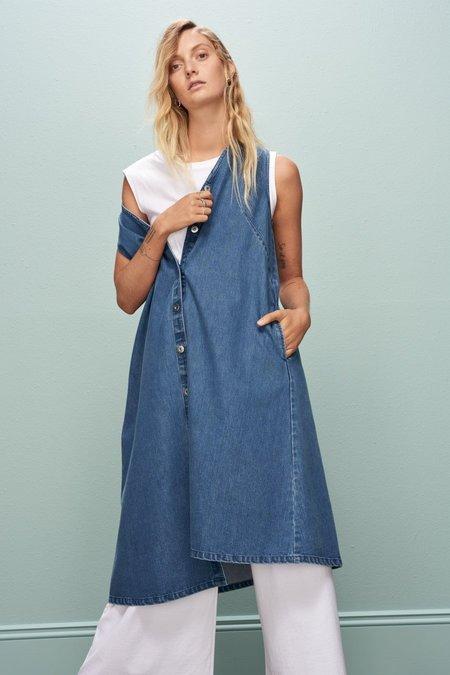 Kowtow Direction Dress - Denim