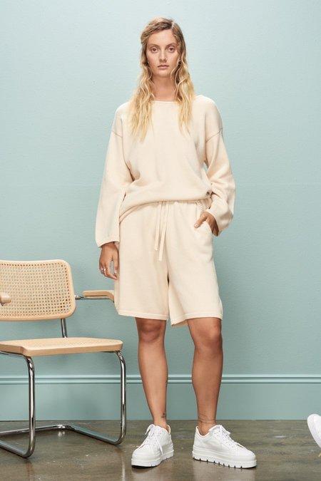 Kowtow Pavement Shorts - Cream
