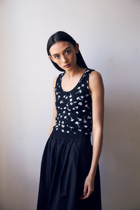 Kowtow Special Editions Pressed Flower Singlet