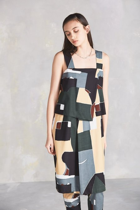 Kowtow Shifting View Dress - Dreamscape