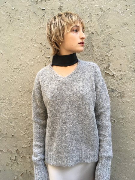 Veda Silo Sweater Light Grey