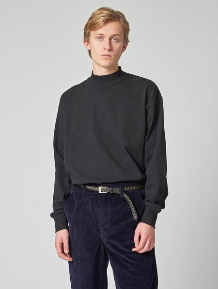 Lemaire Long Sleeve Tee - Black