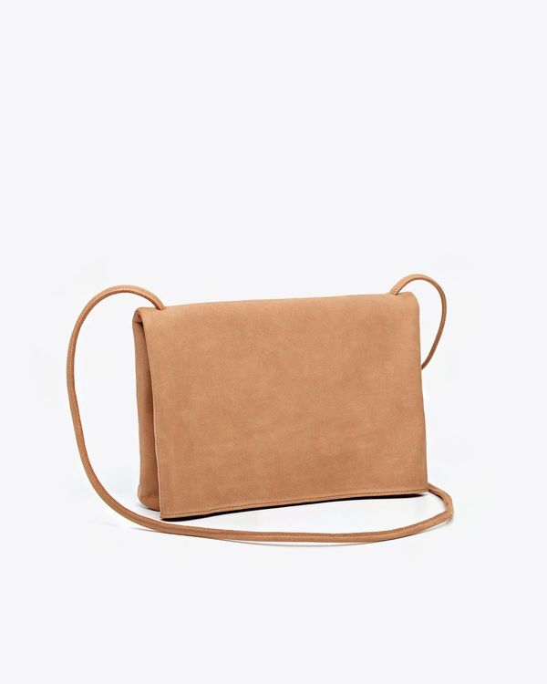 Nisolo Maya Folded Purse - Sand