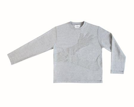 THE LOVABLES HUG ME SWEATER - Gray