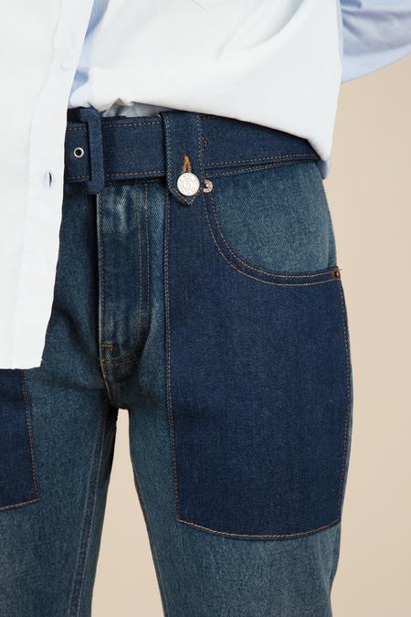 MM6 5 Pocket Denim Pants
