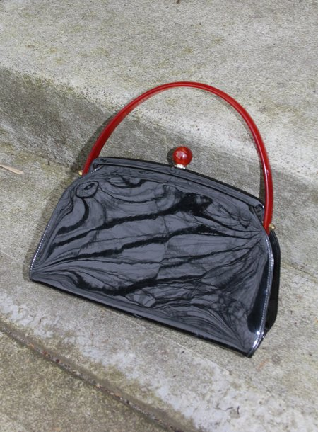 Association Patent Leather Bag