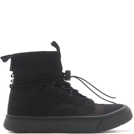 CONVERSE GOLD STAR JUMP BOOT - BLACK