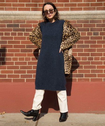 Just Female Deep Blue Chiba Knit Dress
