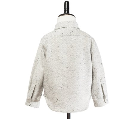 Kid's Hopper Hunter Hopper Shirt - White Out