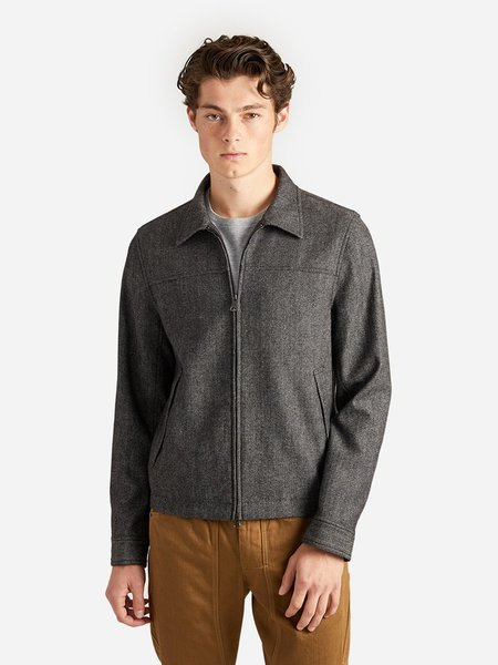 O.N.S Clothing Herringbone Connor Car Coat