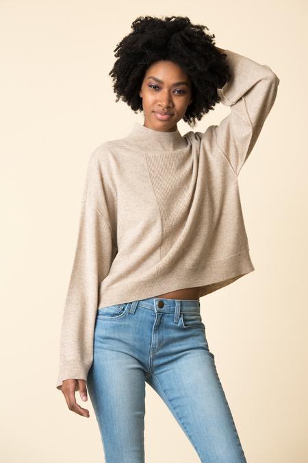 ATM Mock Neck Sweater