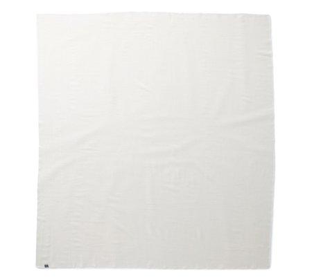 Faribault Woolen Mill Pure & Simple Wool Blanket - Bone