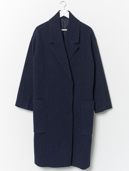 Other Taylor Oversized Overcoat - Navy